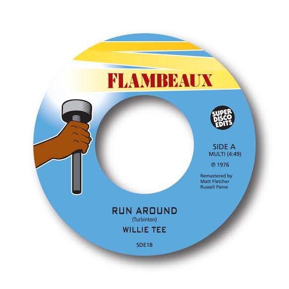 "Image of willie tee ""run around"" flambeaux"