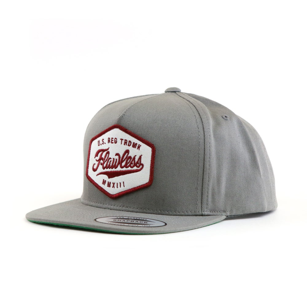 Image of TRADEMARK SNAPBACK  - GRAY