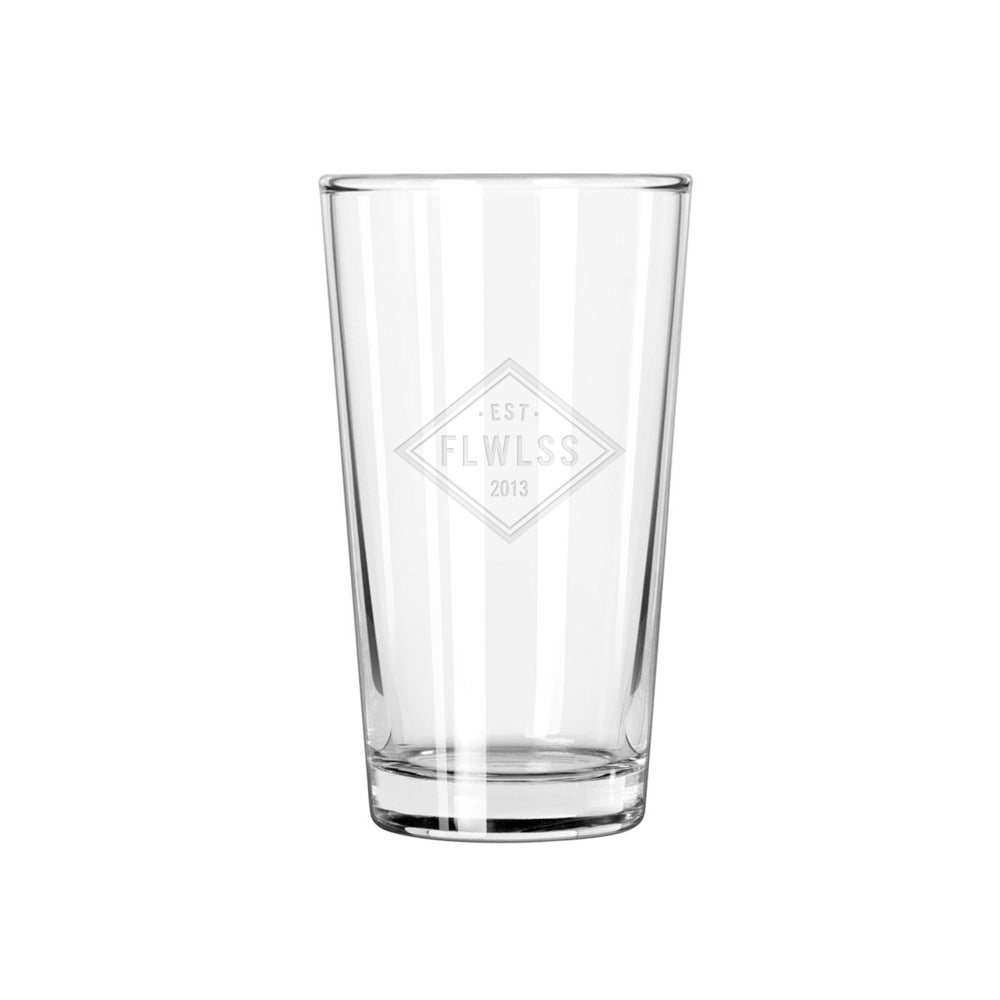 Image of EST.13 PINT GLASS