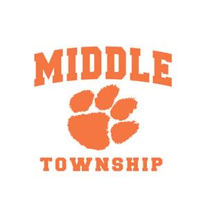 Image of Youth Hooded Sweatshirt w/ Athletic Logo (Black)