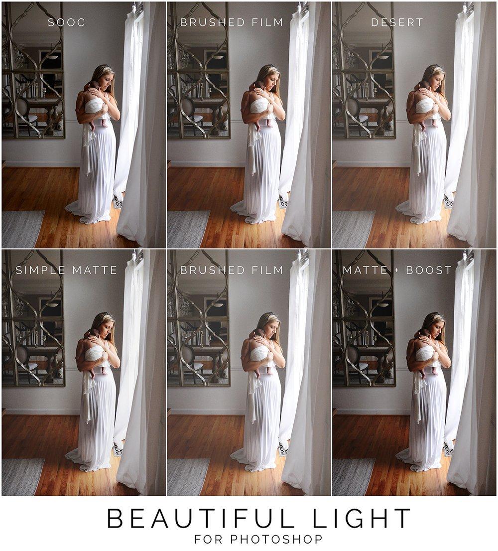 Image of Beautiful Light (Photoshop)