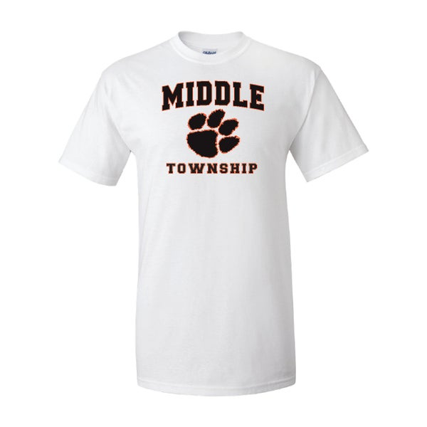 Image of T-Shirt w/ Athletic Logo (White)