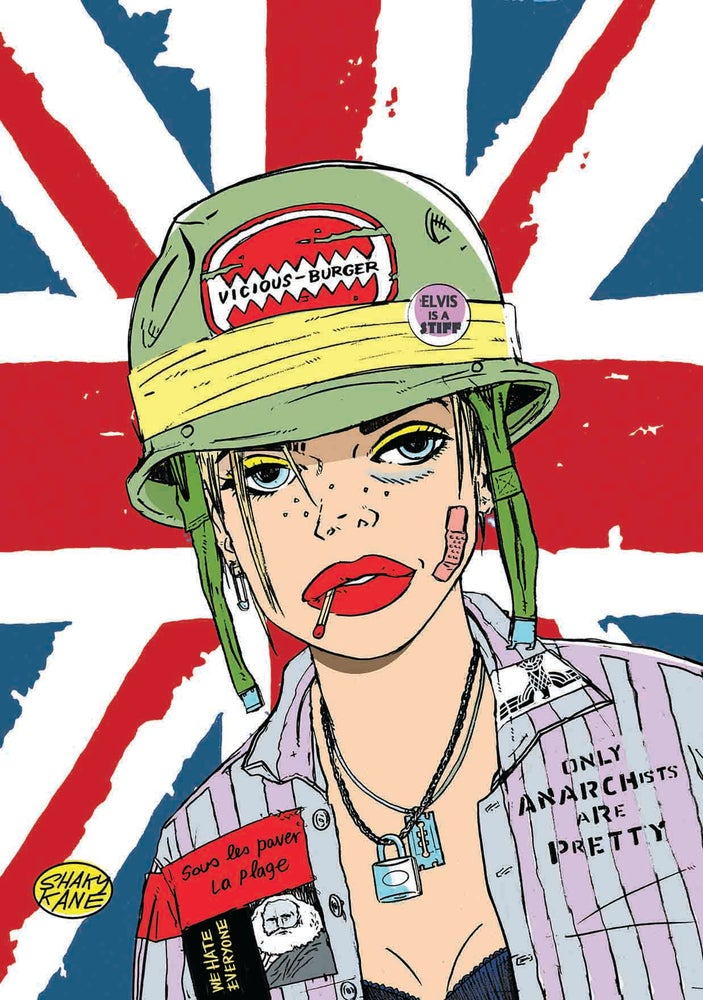 Image of Tank Girl Super Postcard Pack