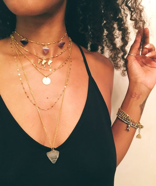 Image of TRIPLE SEKK Nefertiti Choker