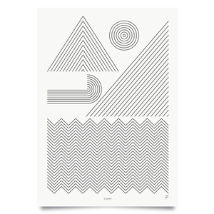 Image of Coast print