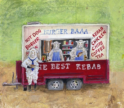 Image of Burger Baa Giclee