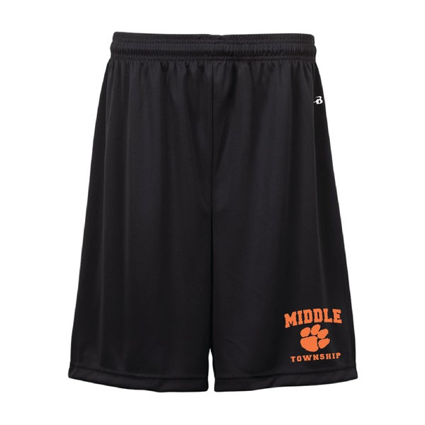 Image of Youth Shorts w/ Athletic Logo (Black)