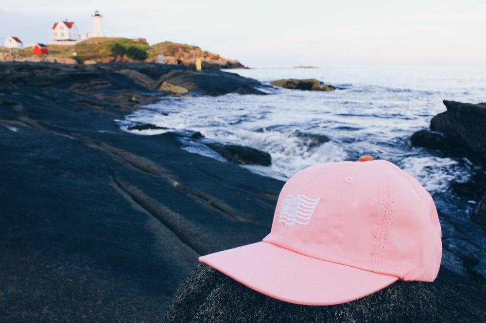"""Image of Pink Flag """"Dadcap"""""""