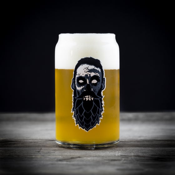 Image of Beer Zombies Craft Can Glass
