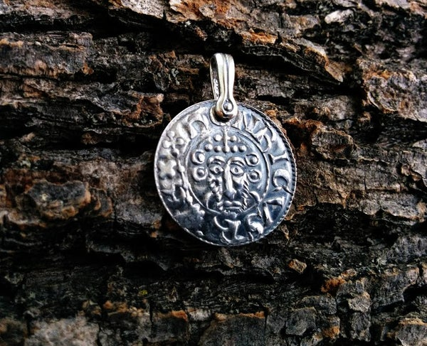 Image of John I 'Magna Carta' & 'Robin Hood' Coin Pendant