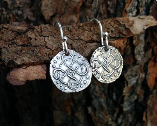 Image of Celtic Knots of East Anglia Earrings