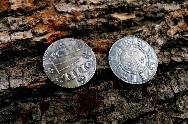 Image of Viking 'Hammer and Sword' Pennies of York