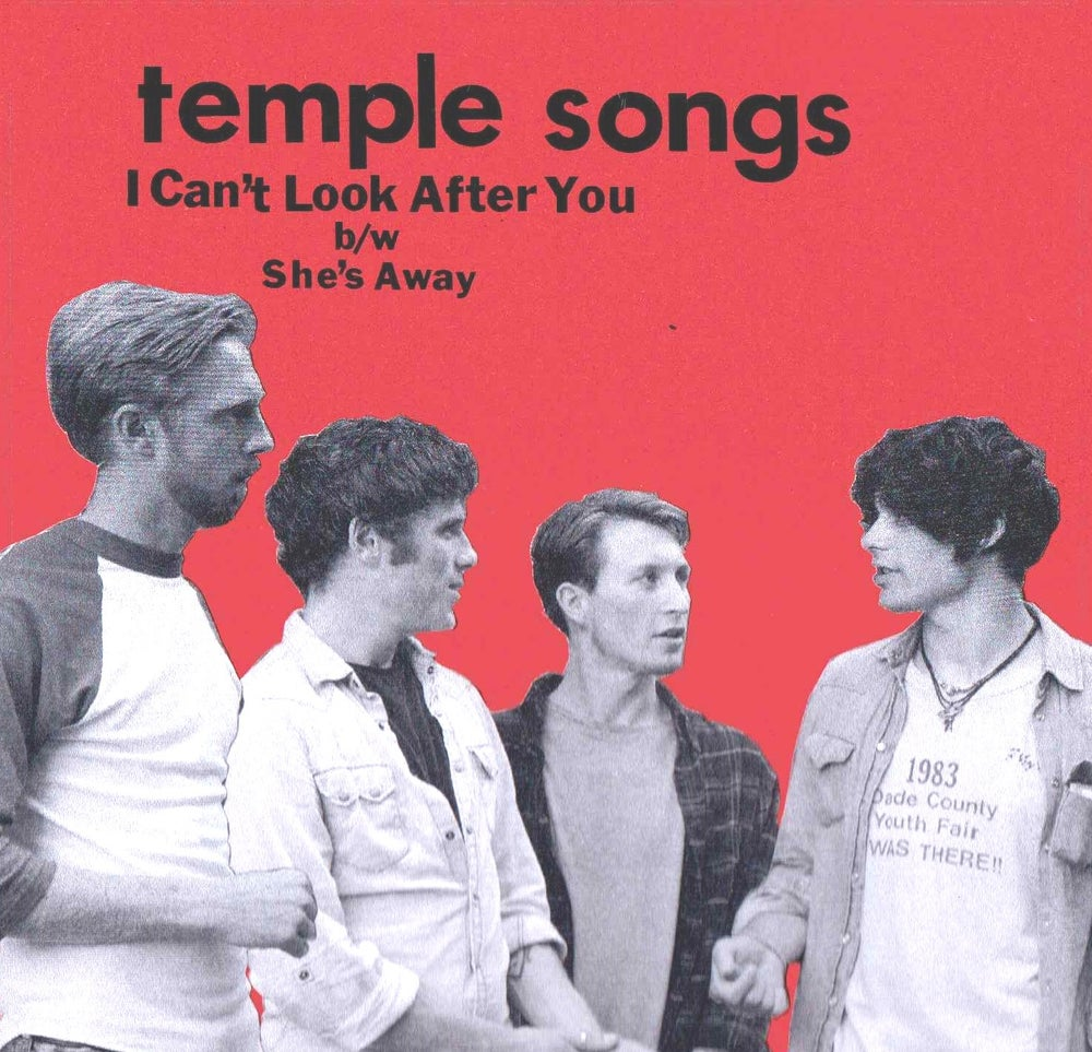 "Image of Temple Songs ""I Can't Look After You"" (SOLD OUT)"