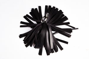 Image of Pompon porte-clefs made in France vegan FANTOME _ CANCAN