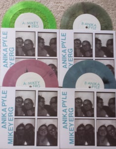 "Image of ALR: 030 - Mikey Erg/Anika Pyle(Chumped) split 7"" BUNDLE ONLY"