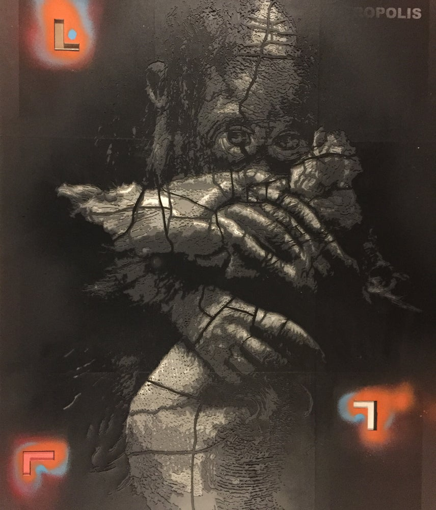 Image of Never Let Go - Stencil stack