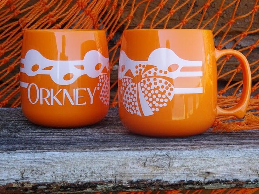 Image of Orkney Mug - Orange