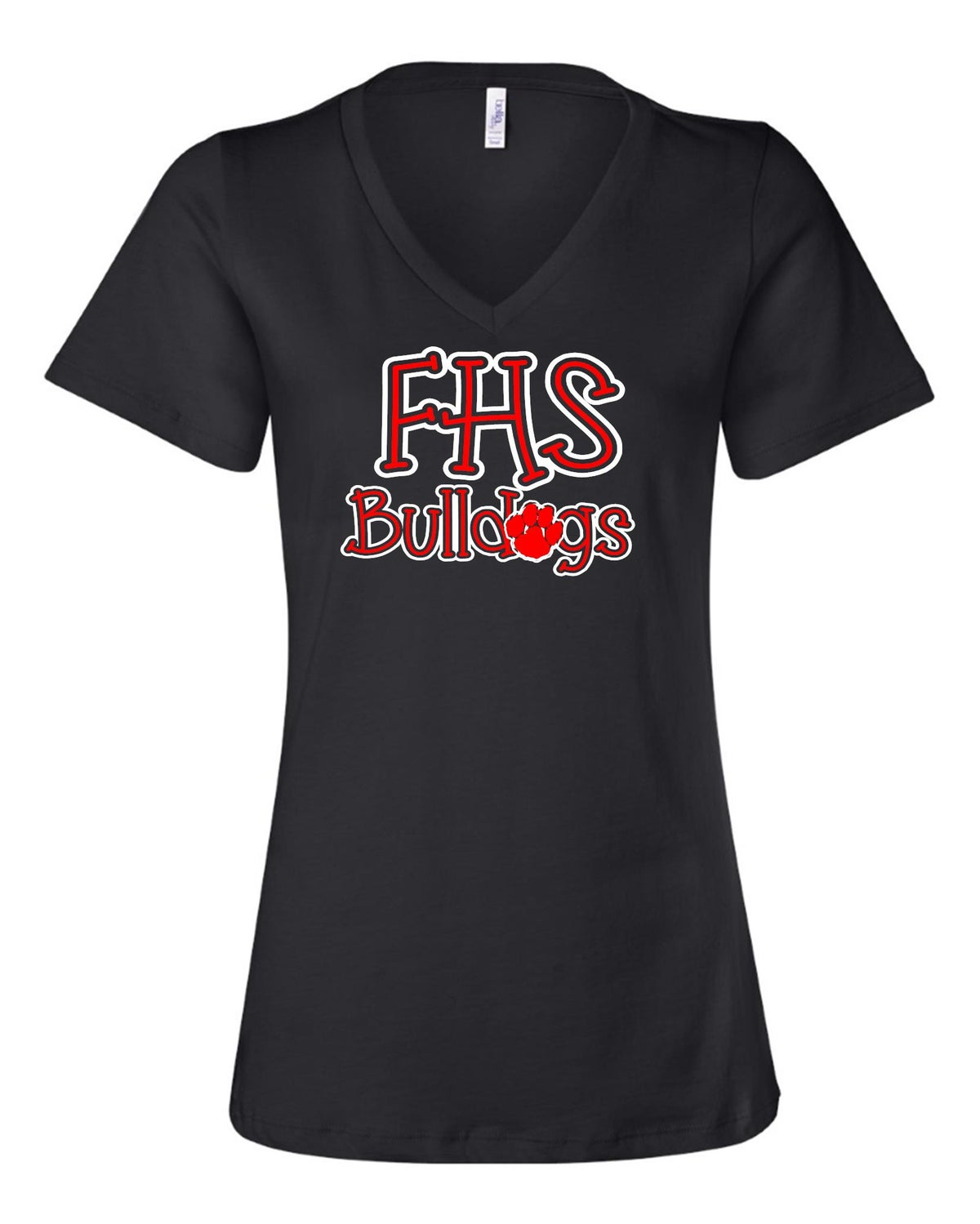 Image of Ladies Relaxed Fit Bulldog Tee