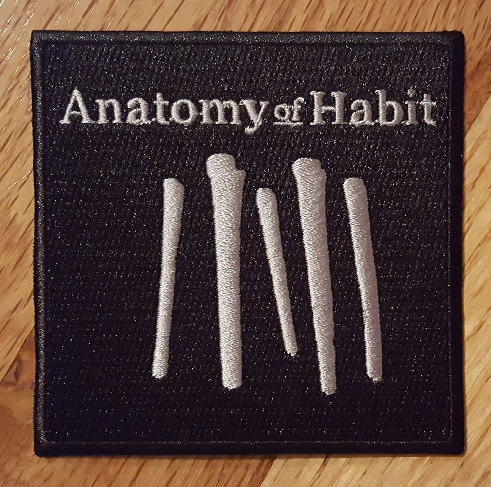 Anatomy of Habit - Embroidered Patch (Logo)