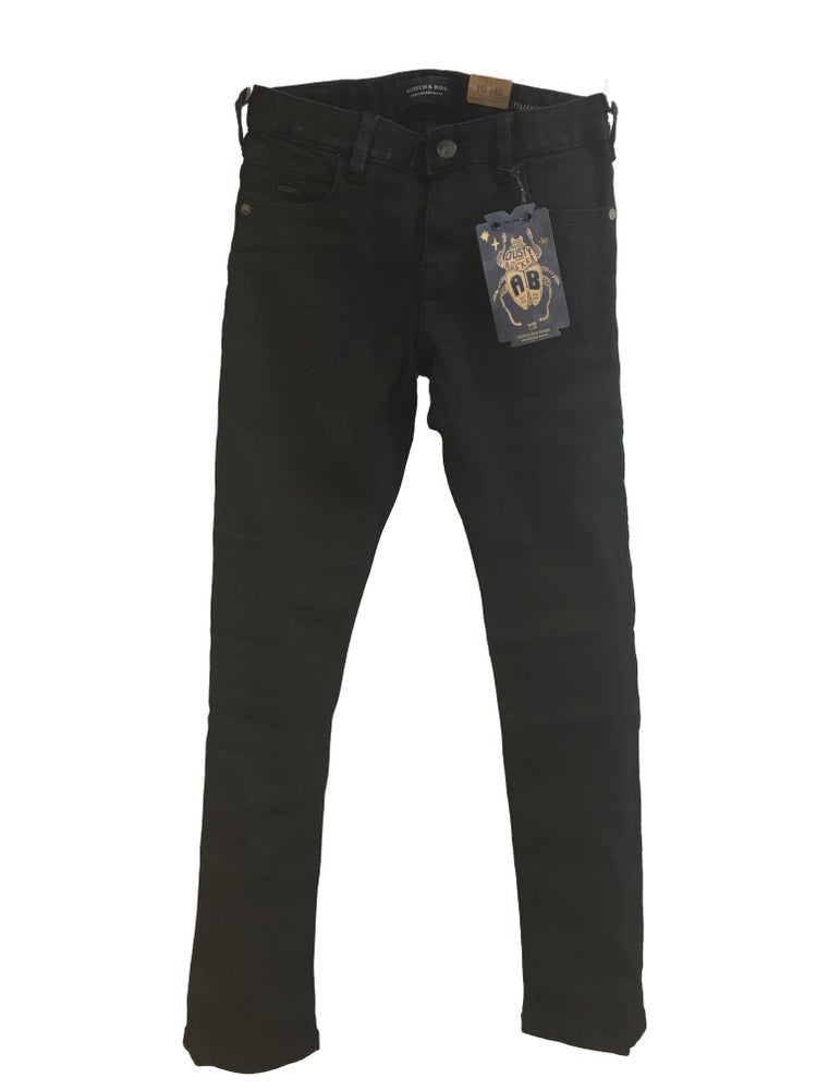 Image of Scotch Shrunk Black Denim