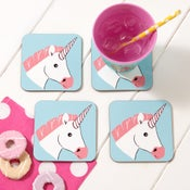 Image of Miss Unicorn Coaster