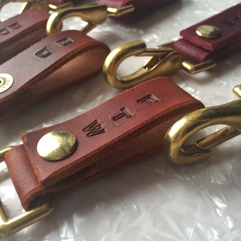 Image of Handmade Leather Key Clips
