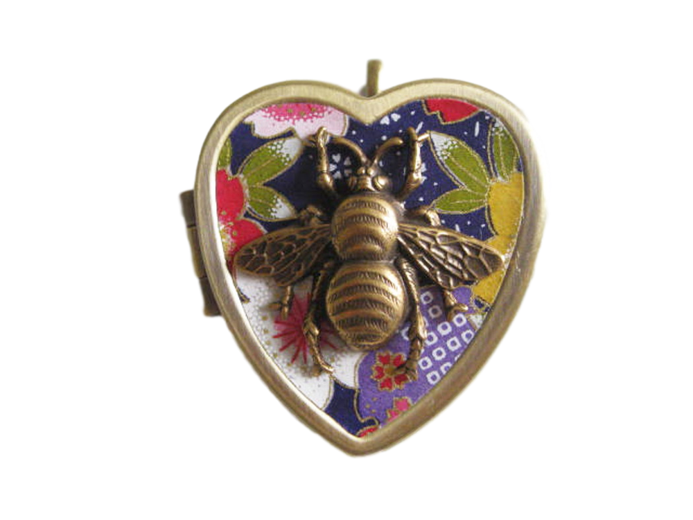 Image of Honey Bee Mine musical locket