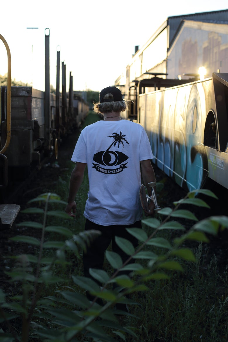 Image of S/S R.EYE.P - T-SHIRT - LIMITED 2ND EDITION WHITE + STICKERS -