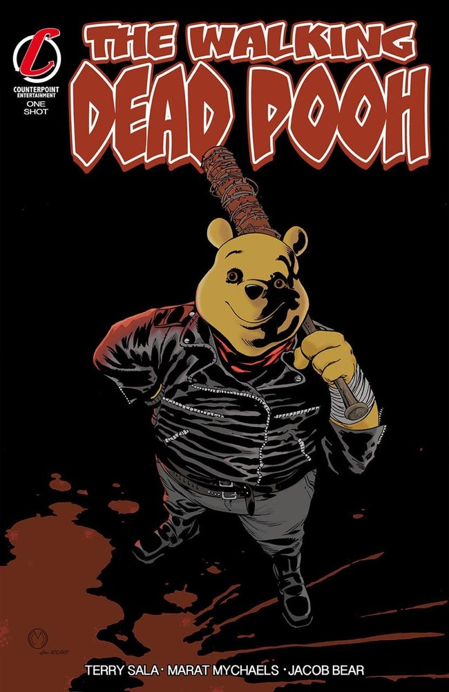 Image of The Walking Dead Pooh Negan Parody Exclusive