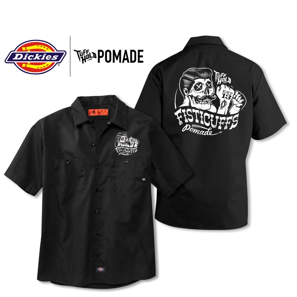 Image of Fisticuffs™  Pomade Dickies Work Shirt