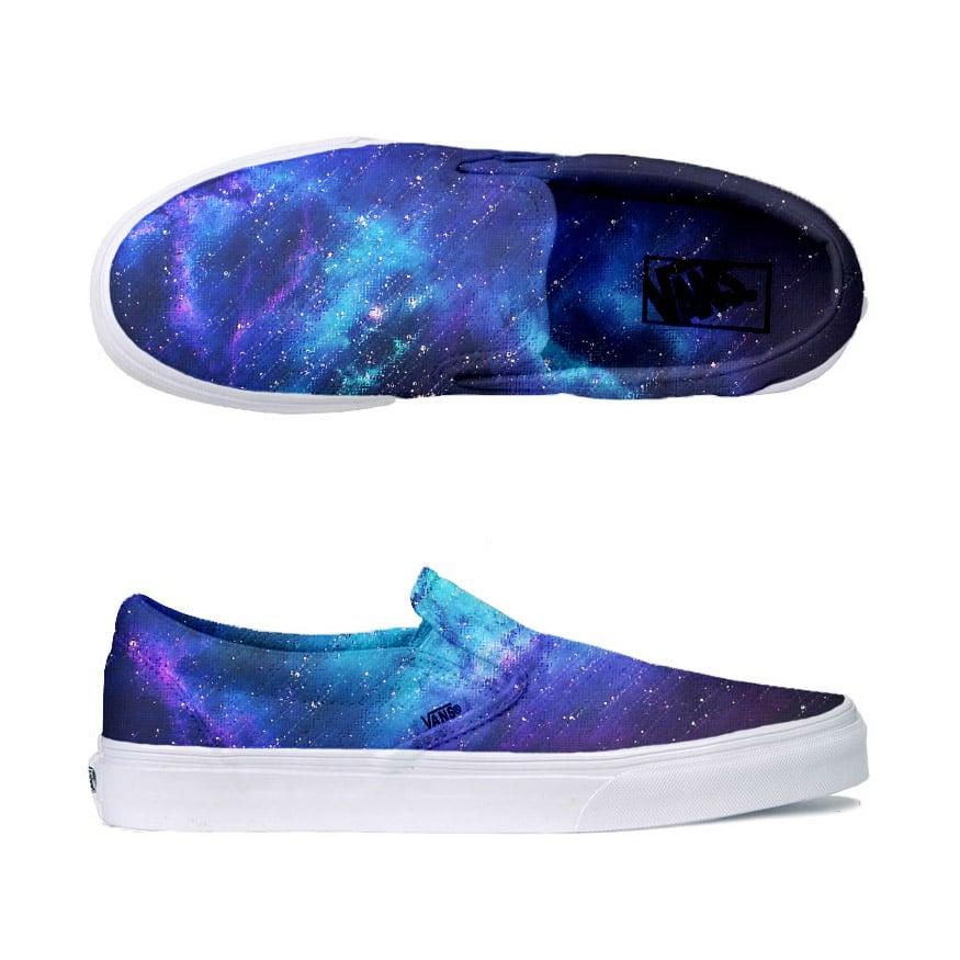 Insta Art Gallery | Galaxy Vans Shoes
