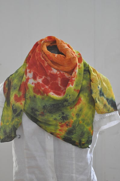 Image of Crepe de Chine Scarf