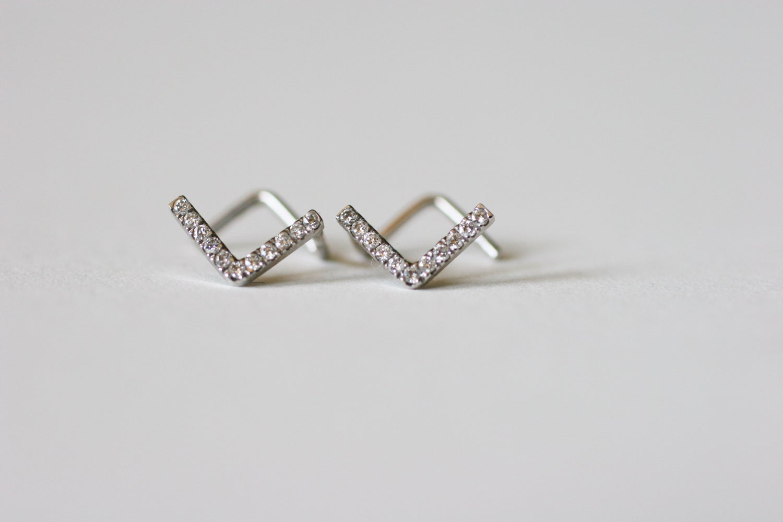Image of Staple Earrings