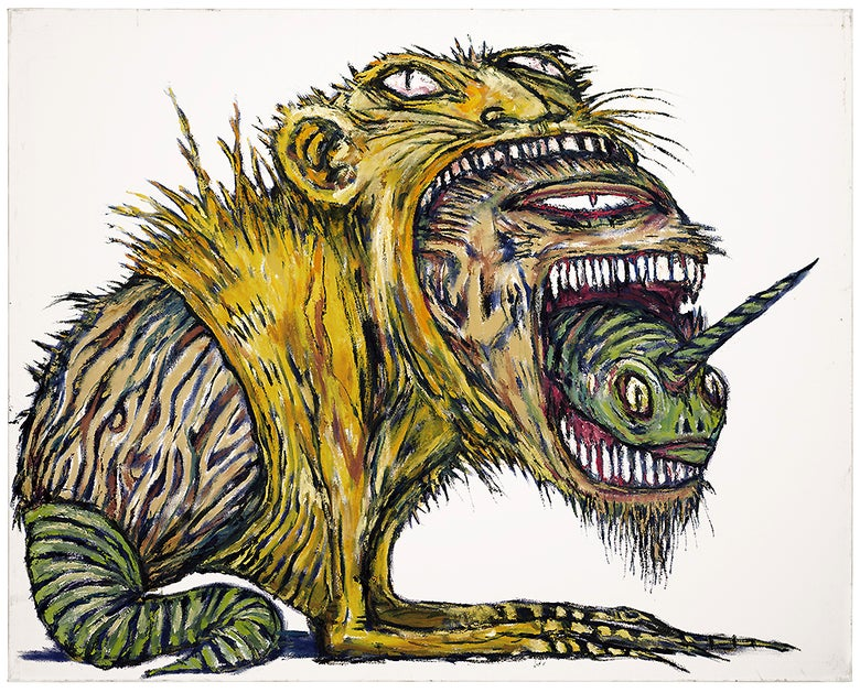 Image of Clive Barker Print '3 Beasts' signed & numbered ed. 13