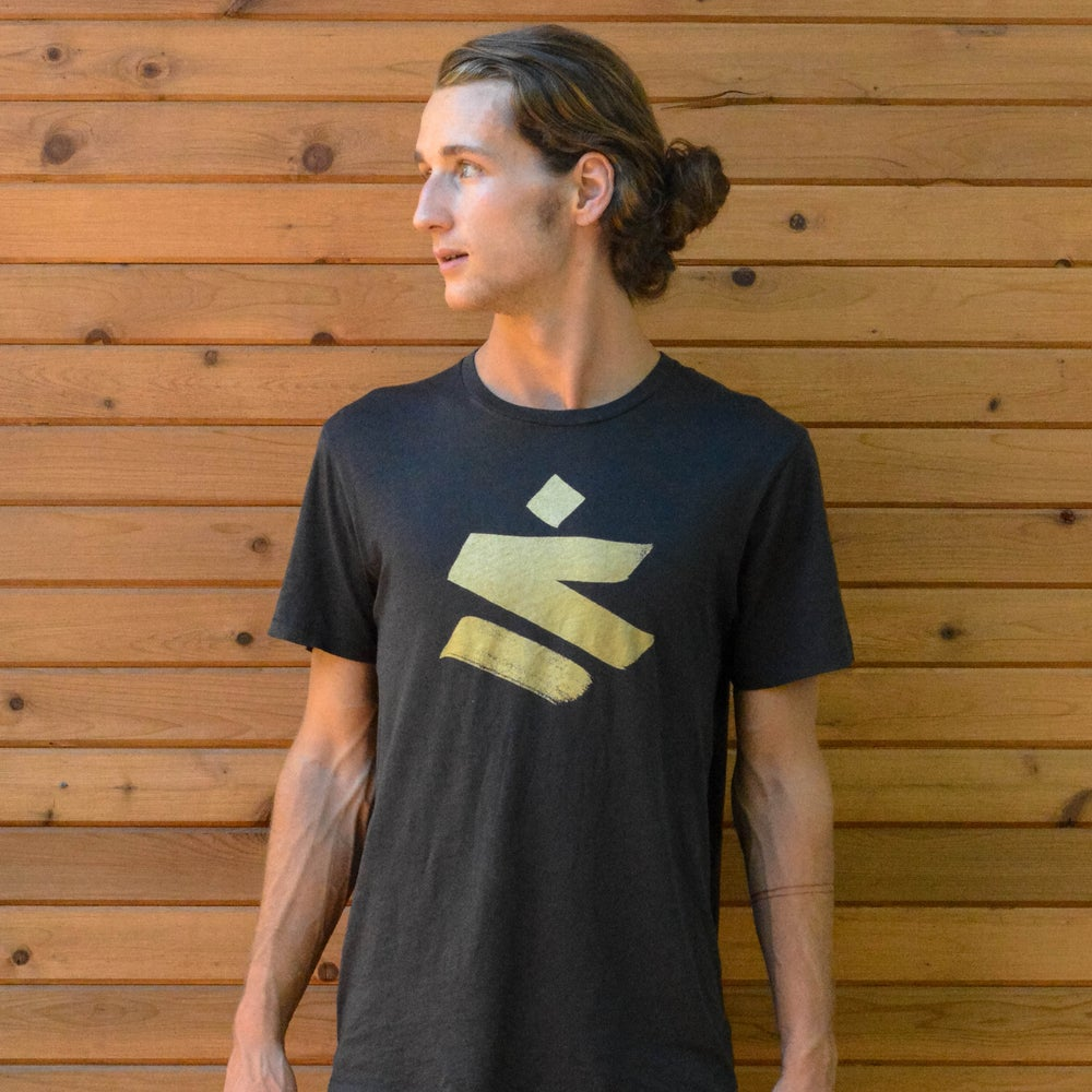 Image of Slow Down // Mens Logo Shirt