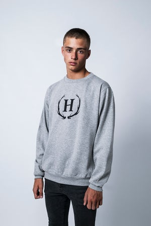 Image of DEER CROWN SWEATER