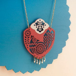 "Image of ""PAVO"" NECKLACE"