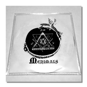 Image of MENIMALS 'Menimals' Promo CD-R