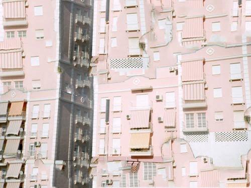 Image of Pink Buildings