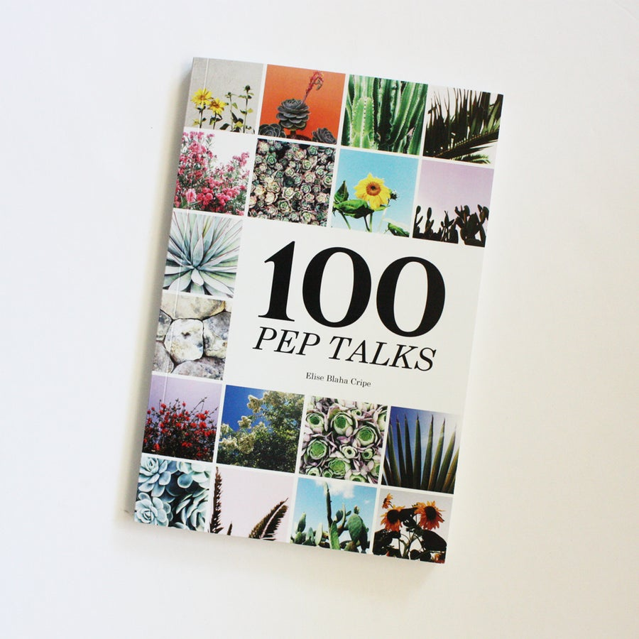 Image of 100 PEP TALKS book