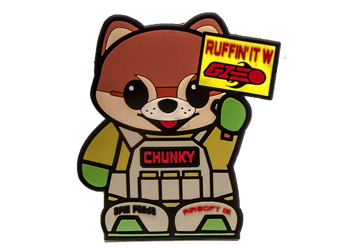 Image of Airsoft GI x Epik Panda Chunky Patch (Custom)