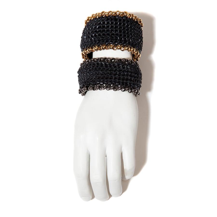 "Image of Black ""Circuit"" Bracelets"