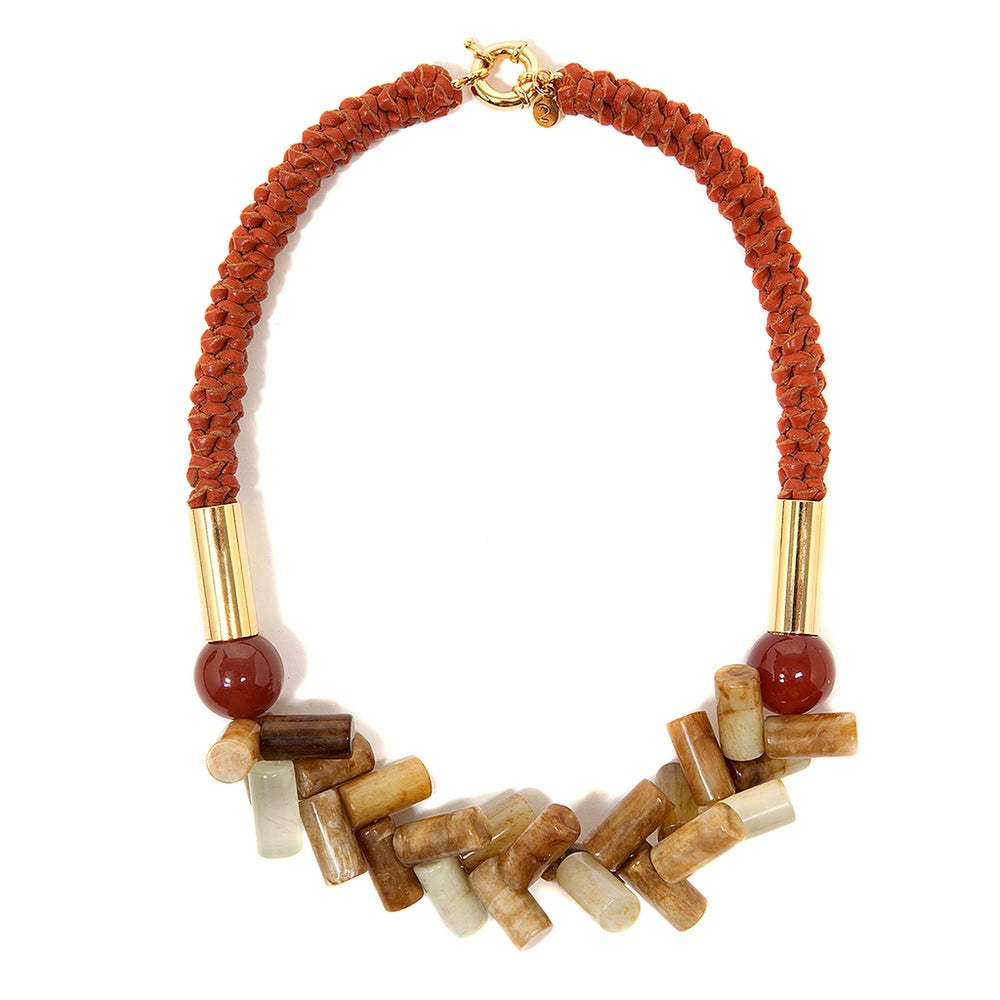"Image of Unique ""Awaba""Neckpiece"