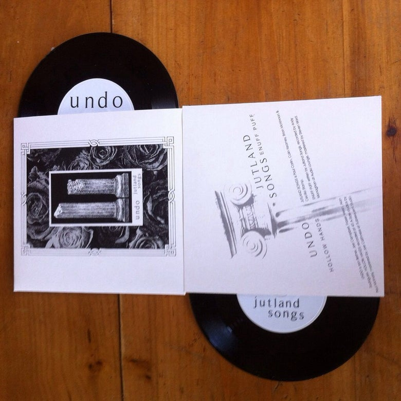 Image of Undo / Jutland Songs Split 7""