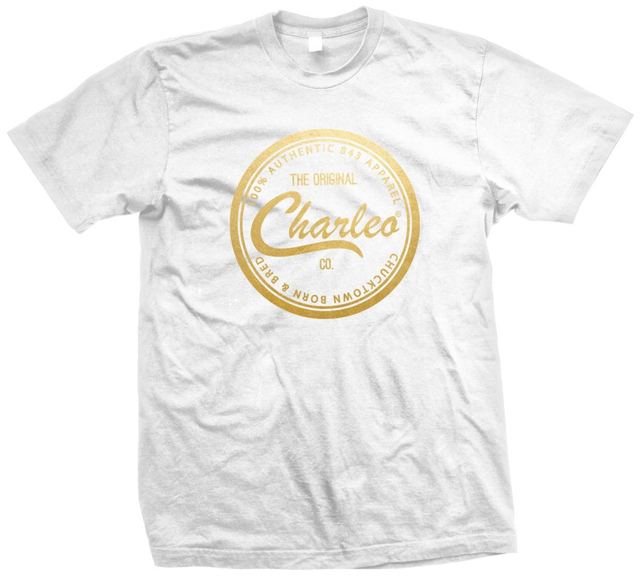 Image of The Original Charleo Seal Tee - SUPER GOLD (CLICK FOR MORE COLORS!)