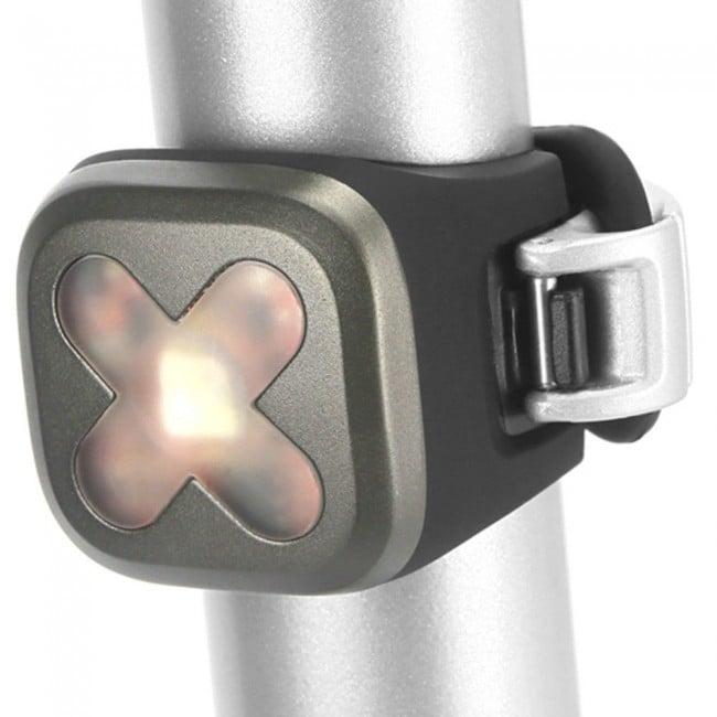 Image of Knog Blinder 1 USB Light - Rear Gunmetal Cross