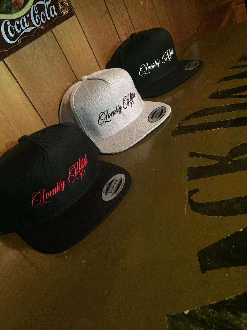 Image of Locally hated SnapBack