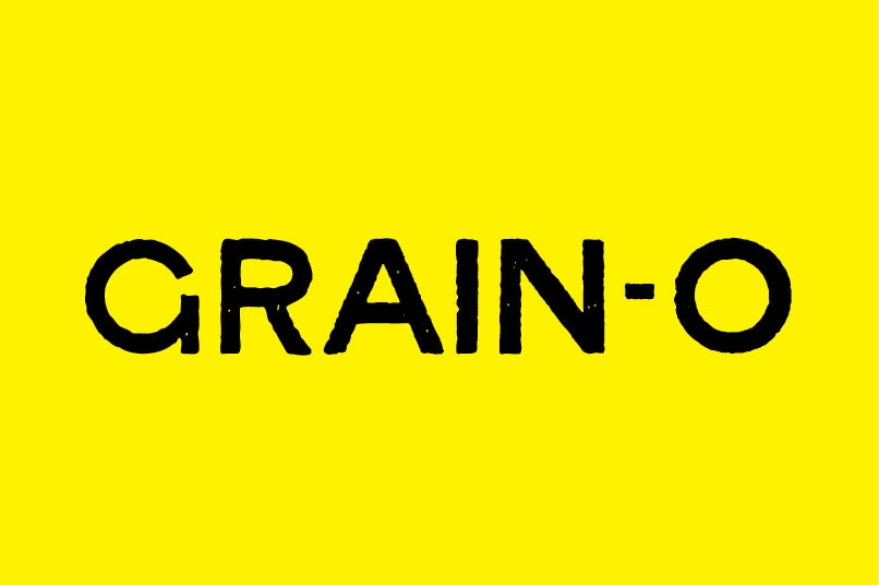 Image of Grain-O All Caps font
