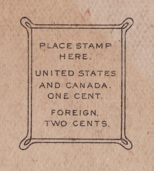 Image of Postal Gothic font