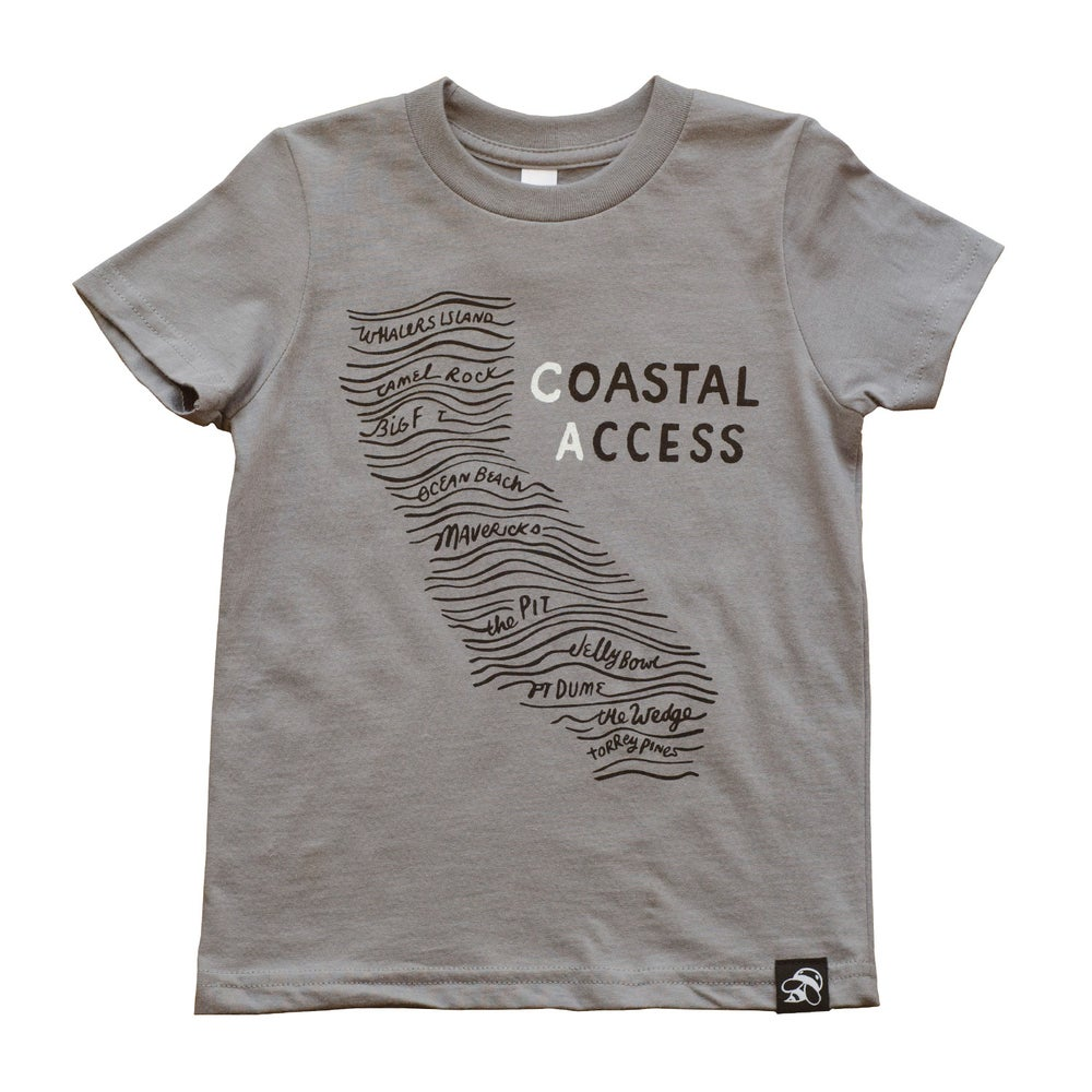 Image of COASTAL ACCESS (CA) kids' tee